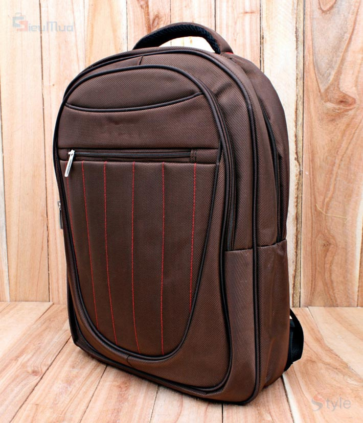 Balo laptop Brown Sam - 5