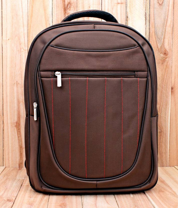 Balo laptop Brown Sam - 1