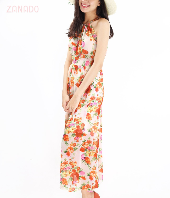 Đầm maxi Flower Girl - 4