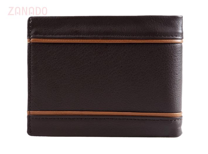 Ví da nam phối sọc Dugi Leather - 2