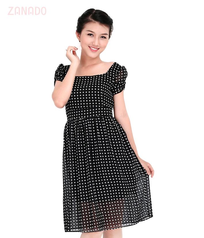 Đầm chấm bi Vintage - 1
