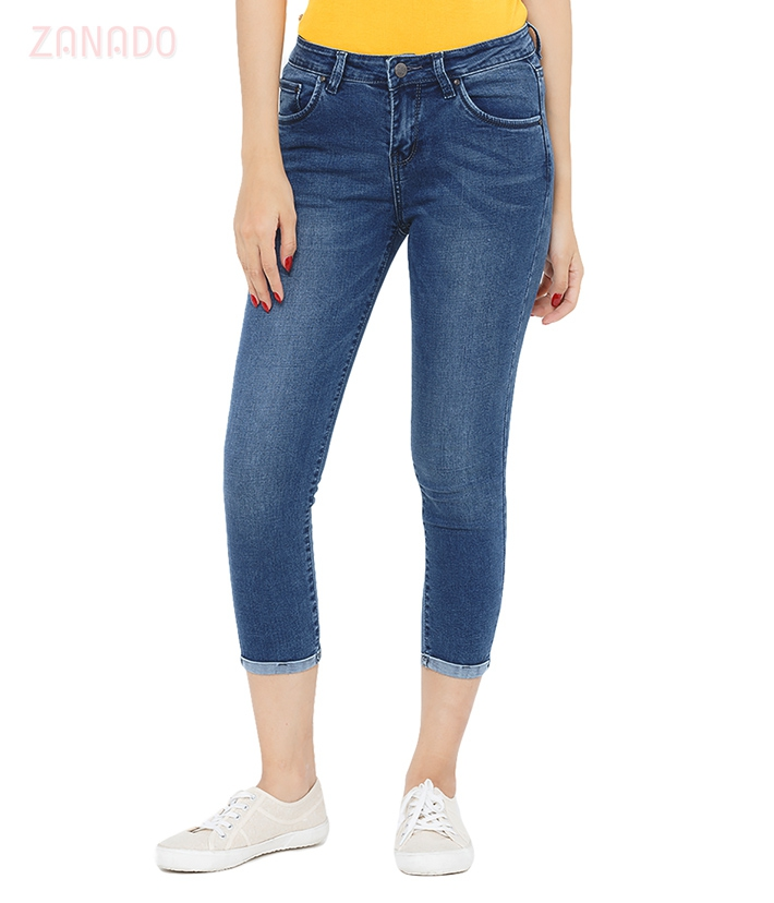 Quần skinny jeans lửng nữ AAA JEANS AR26 - 1
