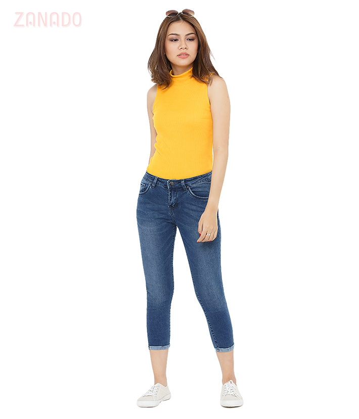 Quần skinny jeans lửng nữ AAA JEANS AR26 - 5