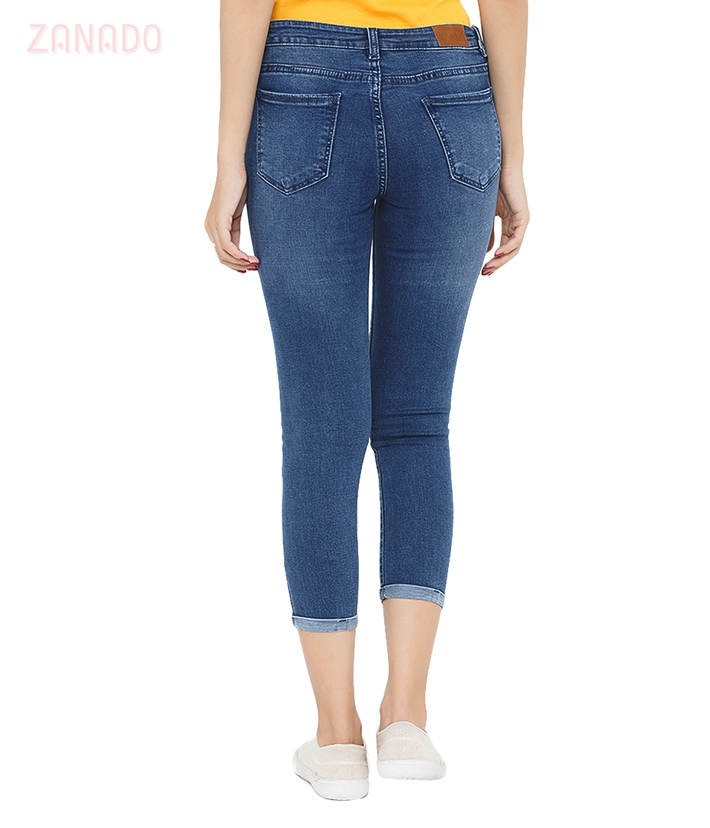 Quần skinny jeans lửng nữ AAA JEANS AR26 - 3
