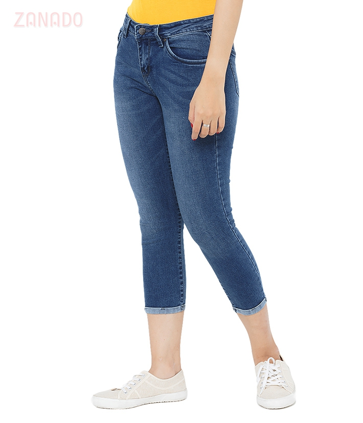 Quần skinny jeans lửng nữ AAA JEANS AR26 - 2