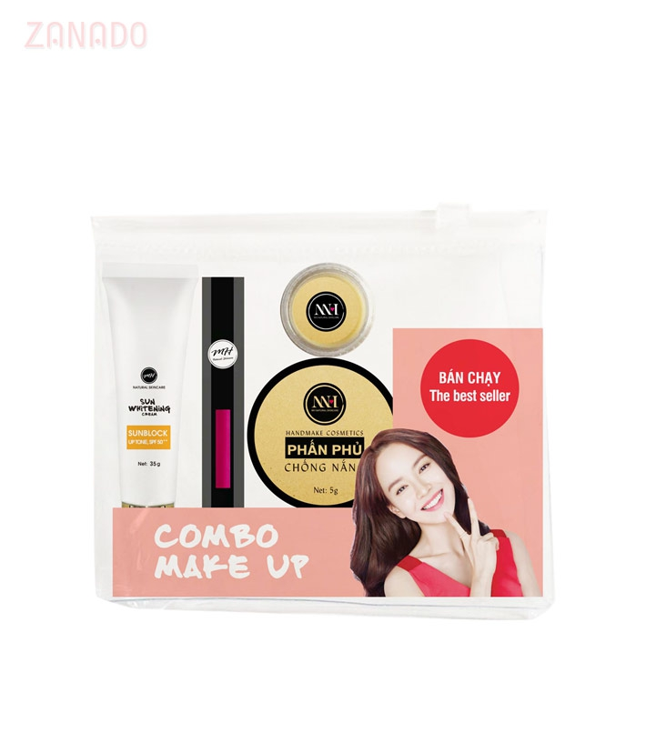 Combo make up MH Natural Skincare CBMK05 son hồng đất - 3