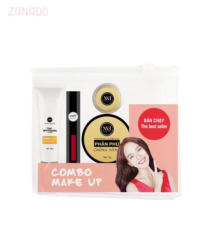 Combo make up MH Natural Skincare CBMK03 son đỏ=490.000 ₫