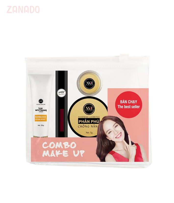 Combo make up MH Natural Skincare CBMK01 son đỏ cherry=490.000 ₫
