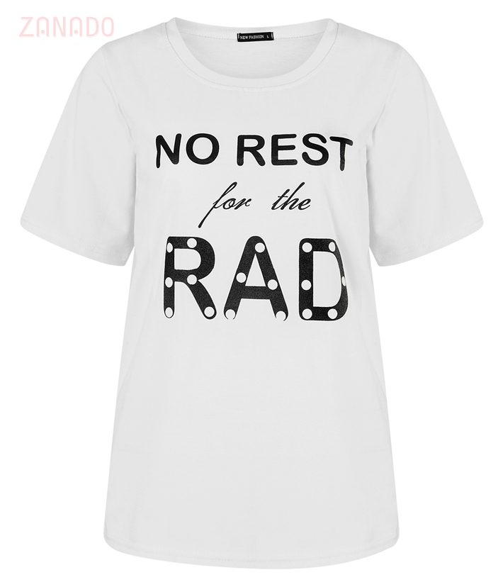 Áo thun nữ No Rest For The Rad - 1