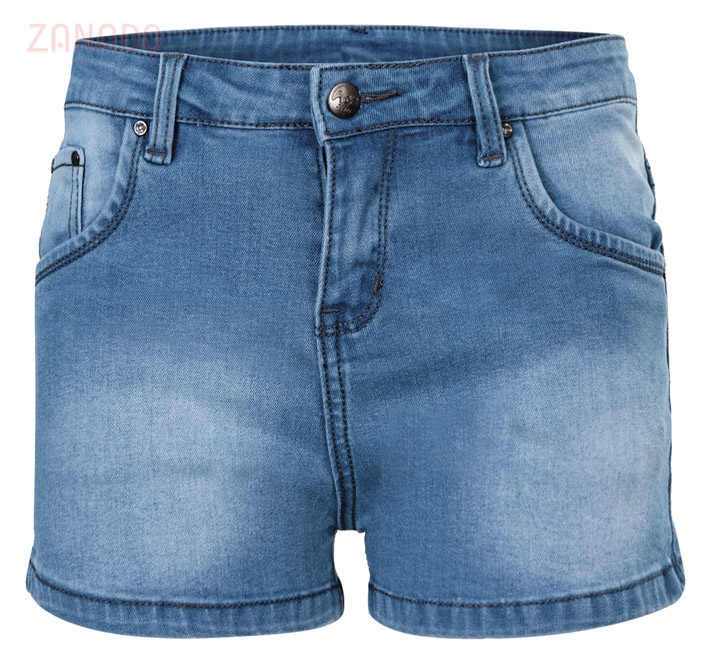 Quần short jeans nữ AAA JEANS XB - 1