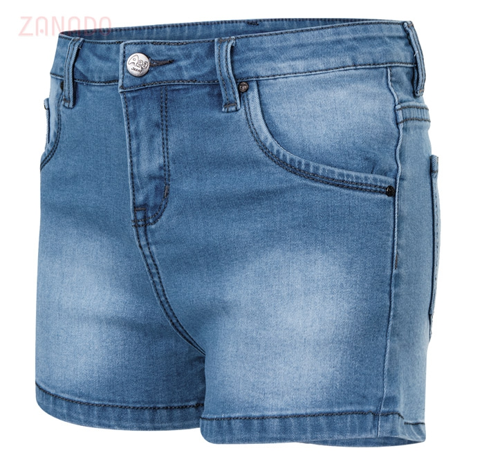 Quần short jeans nữ AAA JEANS XB - 2