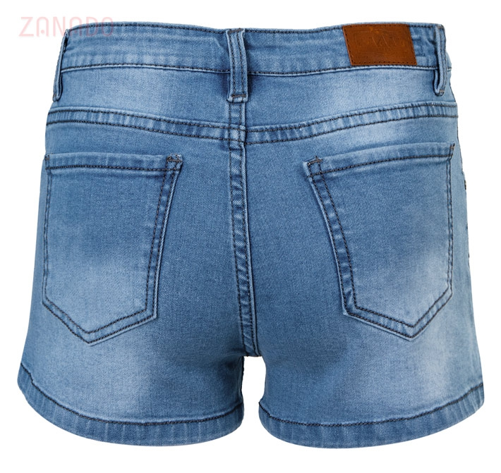 Quần short jeans nữ AAA JEANS XB - 3