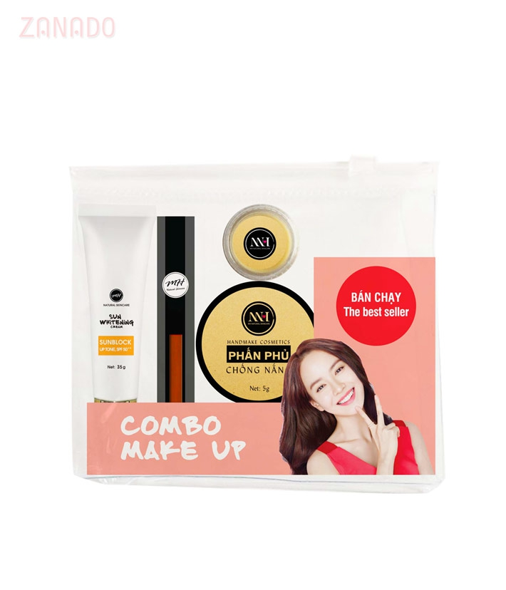 Combo make up MH Natural Skincare CBMK10 son cam tươi - 3