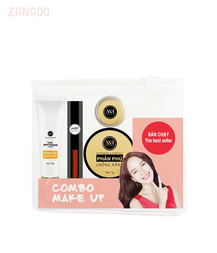 Combo make up MH Natural Skincare CBMK08 son cam đất - 3