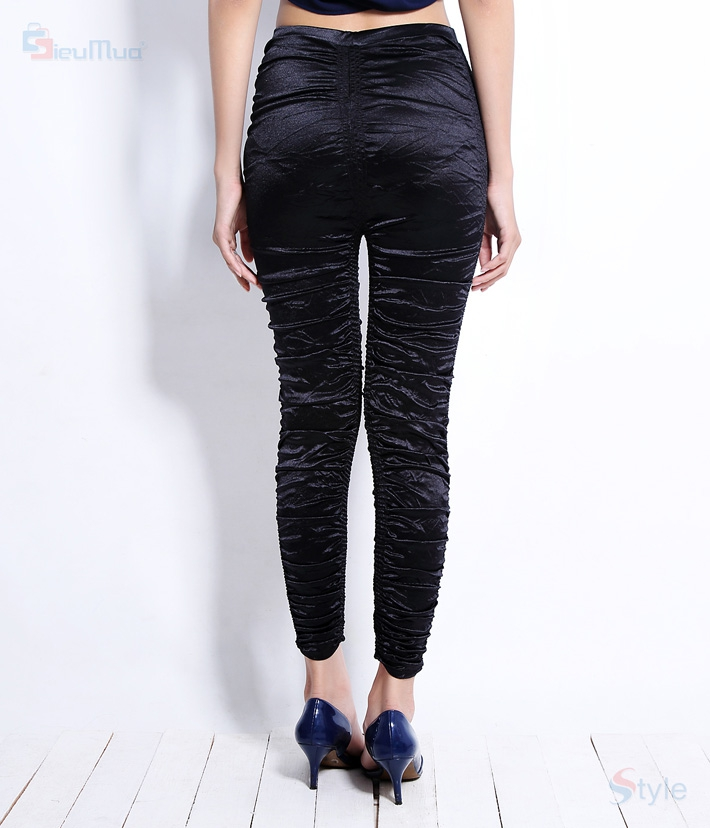 Quần legging thun nhún New fashion - 2