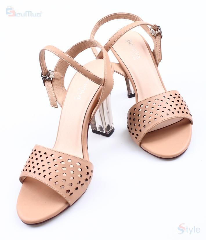 Sandal nữ cao gót sành điệu - 1