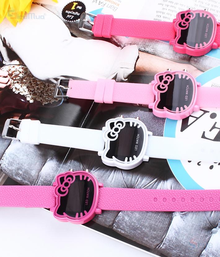 Đồng hồ nữ chú mèo xinh xắn - 1