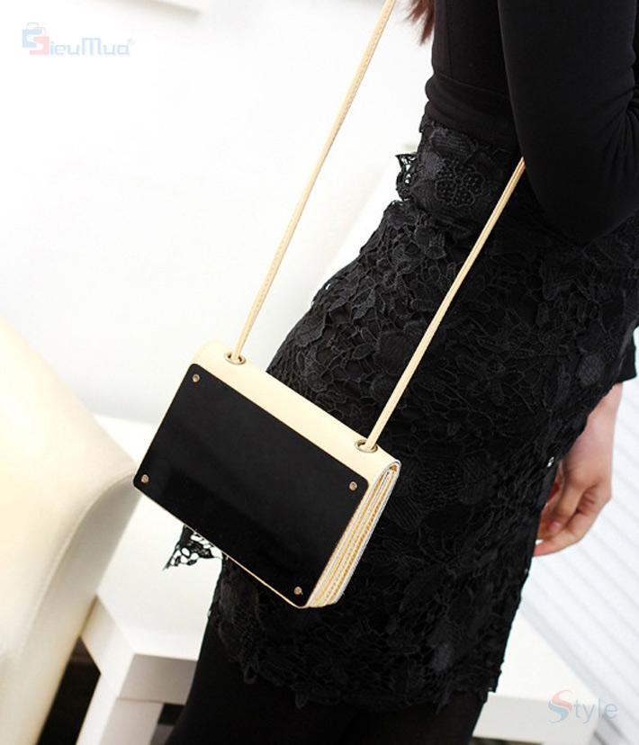 Túi xách nữ mặt kính cá tính - 6