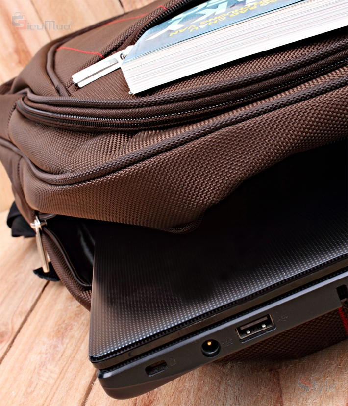 Balo laptop Brown Sam - 3