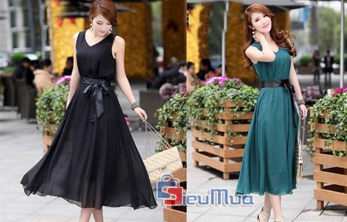 Đầm vintage cổ điển - 1