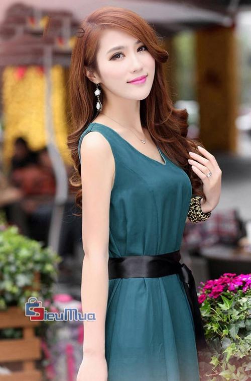 Đầm vintage cổ điển - 5