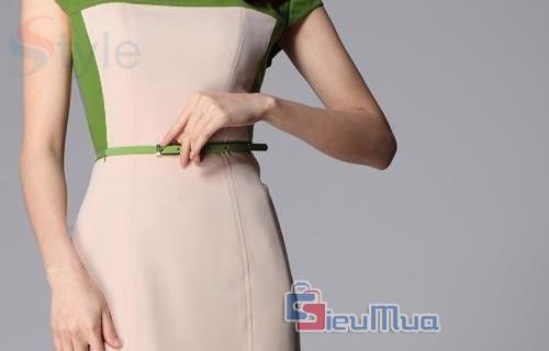 Đầm công sở Luxi - 3