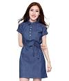 Đầm denim Blue Style