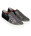 Giày Slip - on MUST Korea Unisex da rắn S02