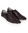 Giày Slip - on MUST Korea Unisex da trăn S01