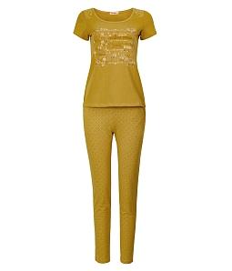 Bộ đồ mặc nhà NITIMO fashion 7079BDCT - Vàng