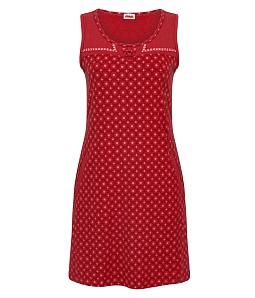 Đầm mặt nhà NITIMO hoa văn plus 2015DMNT - Đỏ