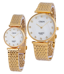 Đồng hồ cặp thời trang - Trắng