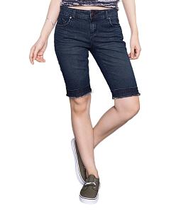 Quần lửng jean nữ Eco JL-001-M1 - Xanh đen