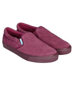 Giày Lười Slip on Nam QuickFree Lightly M160401 - Đỏ đô