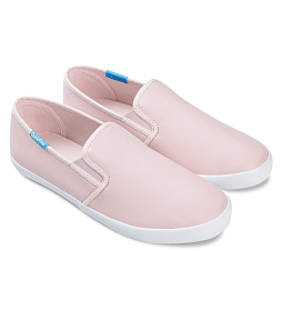 Giày slip on nữ QUICKFREE Lightly Syn 201 - Hồng