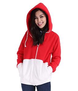 Áo khoác nữ hình mặt mèo xinh yêu - Đỏ