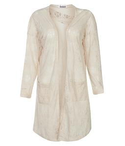 Áo khoác ren nữ tính - Vàng