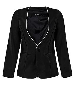 Áo vest nữ phối viền thời trang