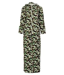 Bộ đồ chống nắng nữ họa tiết lính