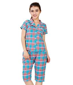 Bộ đồ lửng TWINS pijama caro xinh xắn