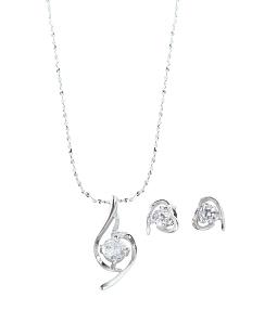 Bộ trang sức bạc 925 đính đá CZ