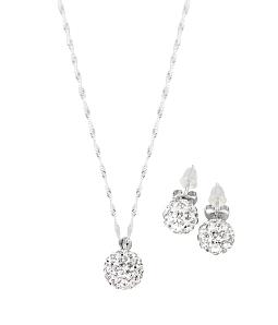 Bộ trang sức Bạc Diamond
