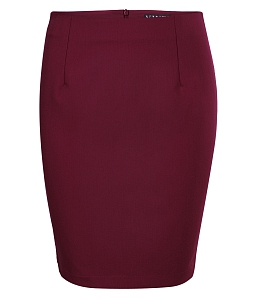 Chân váy ôm nữ cá tính - Đỏ