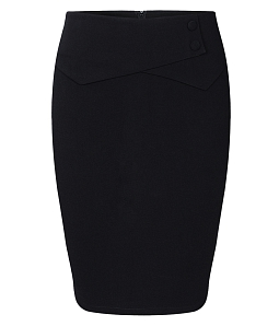 Chân váy ôm nữ H&T thời trang - Đen