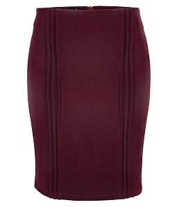 Chân váy ôm xếp pilly sang chảnh - Nâu