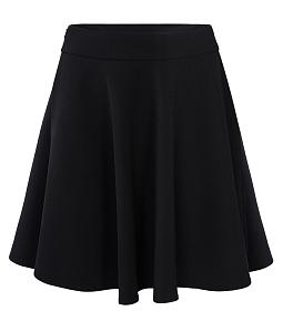 Chân váy xòe điệu đà cá tính - Đen