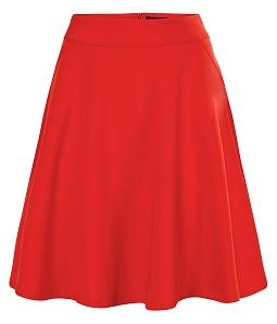 Chân váy xòe duyên dáng - Đỏ