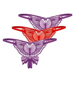 Combo 3 quần lót nữ hình bướm quyến rũ