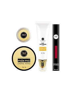 Combo make up MH Natural Skincare CBMK03 son đỏ