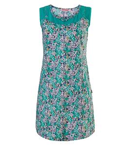 Đầm mặc nhà họa tiết hoa hồng NITIMO 2020 - Xanh